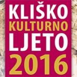 Kliško kulturno ljeto 2016.